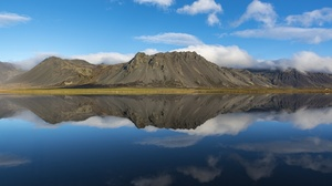 Nature Lake Mountain Sky Cloud 2048x1367 Wallpaper