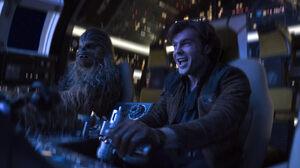 Alden Ehrenreich Chewbacca Han Solo 7952x5304 wallpaper