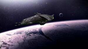 Sci Fi Spaceship 2560x1440 wallpaper