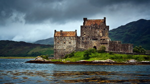 Man Made Eilean Donan Castle 1920x1080 Wallpaper