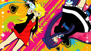 Panty And Stocking With Garterbelt Anarchy Panty Anarchy Stocking 2560x1440 wallpaper