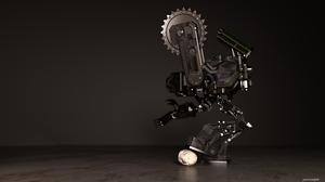 3d Cgi Digital Art High Tech Robot Sci Fi Skull 3000x1688 Wallpaper