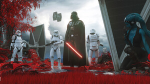 Dylan Kowalski CGi Star Wars Men Stormtrooper TiE Fighter Sith Darth Vader Jedi Aayla Secura Star Wa 1920x950 Wallpaper