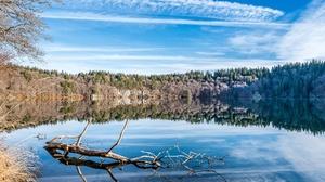 France Lake Nature Reflection 2048x1367 Wallpaper