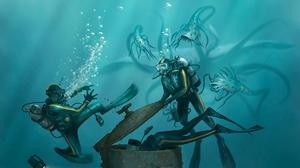 Diver 1920x1270 Wallpaper