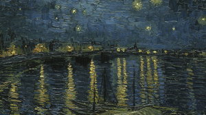 Vincent Van Gogh Painting Oil Painting Oil On Canvas Impressionism 4310x1804 Wallpaper