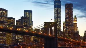 Manhattan New York 4245x2825 Wallpaper