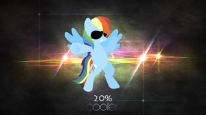 My Little Pony Rainbow Dash Vector 2560x1440 Wallpaper