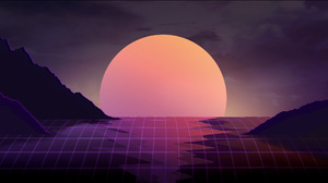 Moon Mountain 2560x1440 Wallpaper