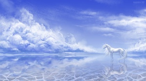Reflection Cloud Sky 3000x1688 Wallpaper