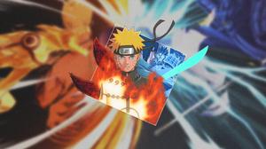 Naruto Anime Naruto Shippuuden Kurama Kyuubi Susanoo Character Uchiha Sasuke Uchiha Clan Akatsuki Ko 3840x2160 Wallpaper