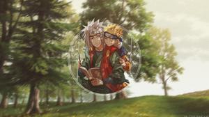 Jiraiya Naruto Naruto Uzumaki 3840x2160 Wallpaper