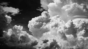 Clouds Nature Photography Landscape Monochrome Sky South Texas 6016x3546 Wallpaper