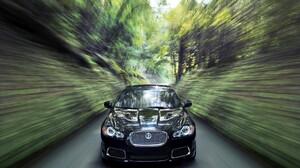 Car Black Car Motion Blur 1920x1200 Wallpaper