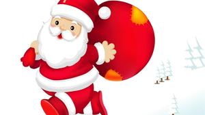 Christmas Santa Claus White 1920x1440 Wallpaper