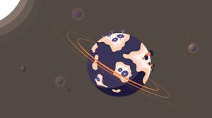 Planetary Ring 5120x2880 Wallpaper