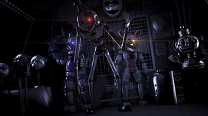 Video Game Five Nights At Freddy 039 S Sister Location 1920x1080 Wallpaper