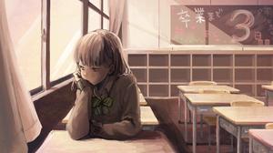 Classroom Girl 4261x2684 Wallpaper