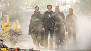 Benedict Cumberbatch Benedict Wong Bruce Banner Doctor Strange Iron Man Mark Ruffalo Robert Downey J 5156x3412 Wallpaper