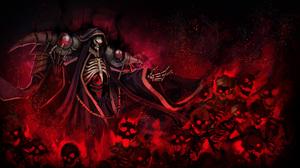 Anime TunaMaYo Overlord Anime Ainz Ooal Gown Skeleton Undead 2500x1410 wallpaper