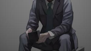 Anime Brain Suits Cyborg Science Fiction 1447x2195 Wallpaper