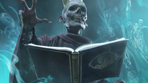 Book Creepy Crown Necromancer Undead 2000x1469 Wallpaper