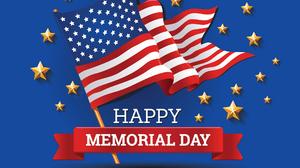 Happy Memorial Day American Flag 1920x1344 wallpaper