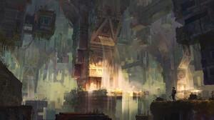 Fantasy Landscape 1920x1148 Wallpaper