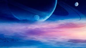 Sci Fi Landscape 2201x1080 Wallpaper