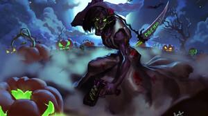 Brawlhalla Halloween 3475x2289 wallpaper