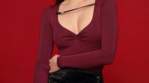 Ana De Armas Women Actress Women Indoors Indoors Legs Long Hair Brunette Lipstick Black Skirts Earri 2000x3000 Wallpaper