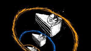 Dark Vertical Cake Food Minimalism Portal Game Portrait Display 2160x3840 Wallpaper
