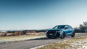 Audi Audi Q8 Blue Car Car Luxury Car Vehicle 3600x2401 Wallpaper