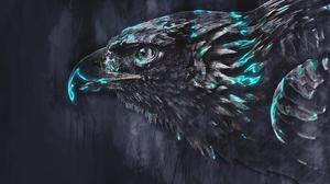 Artwork Bird 3840x2160 wallpaper