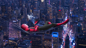 Spider Man Spider Man Far From Home Tony Stark 2000x1125 Wallpaper