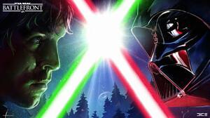 Darth Vader Lightsaber Luke Skywalker Star Wars 1920x1080 Wallpaper