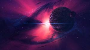 Planet Space Galaxy 2560x1440 Wallpaper