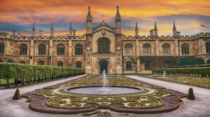 Man Made Palace 3840x2160 wallpaper