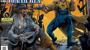 Booster Gold Jonah Hex 1280x1013 wallpaper