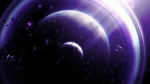 Space Galaxy Planet Interstellar Movie Stars Nebula Sun Black Holes 4000x2000 Wallpaper