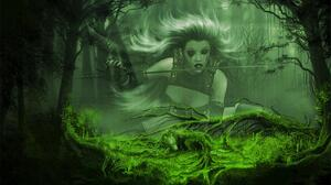 Fantasy Women Warrior 1440x900 Wallpaper