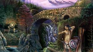Fantasy Centaur 1382x1045 wallpaper
