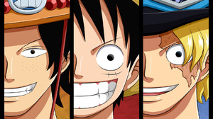 Black Hair Monkey D Luffy One Piece Pirate Portgas D Ace Sabo One Piece Smile 1625x1030 Wallpaper