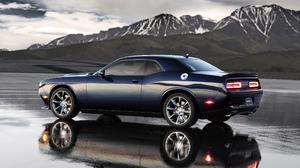 Dodge Challenger Car Mountain Dodge Challenger SRT Hellcat 2560x1600 Wallpaper