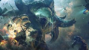 Fantasy Creature 2400x1031 Wallpaper