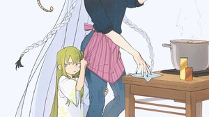 Fate Series FGO Fate Grand Order Alternate Costume Anime Girls Anime Boys Casual Women Indoors Apron 1448x2048 Wallpaper