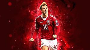Christian Eriksen Danish Soccer 2880x1800 Wallpaper