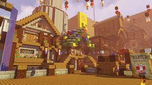 Technoblade Dream Smp House Minecraft Shaders Video Games PC Gaming Screen Shot 1920x1080 Wallpaper