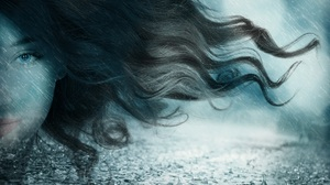 Artistic Face Hair Long Hair Manipulation Rain Water Drop 1920x1271 Wallpaper
