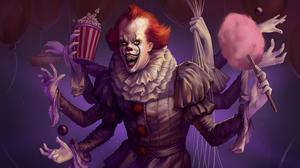Clown Creepy It 2017 Pennywise It 3605x2000 Wallpaper